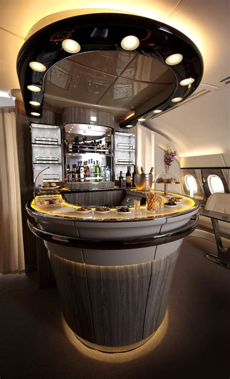 Emirates unveils classy new A380 bar | Andy's Travel Blog