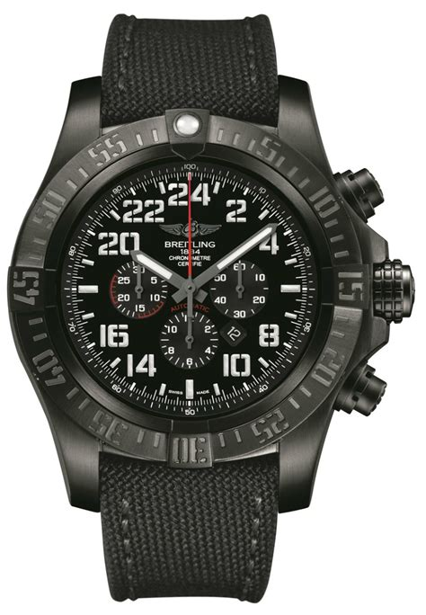 Breitling Super Avenger Military Limited Series Watch With