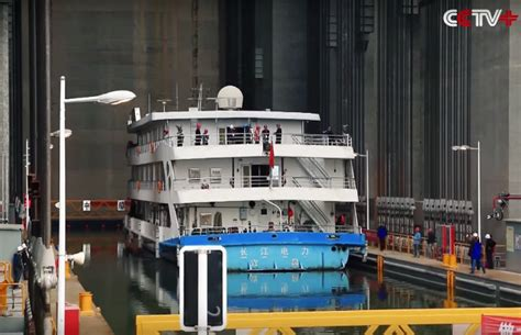 World's largest elevator starts lifting ships over the