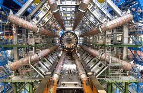 APOD: 2011 December 18 - Hints of Higgs from the Large