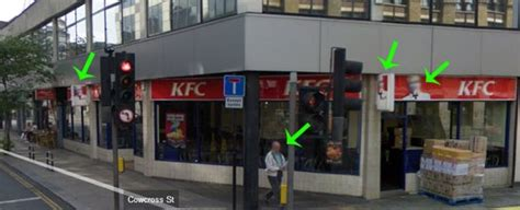Google Street View Blurs the KFC Colonel - Are Royal