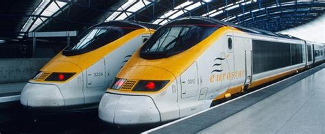 Eurostar train tickets and timetables