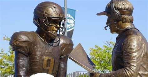 Philadelphia Eagles Unveil Statue Of The 'Philly Special