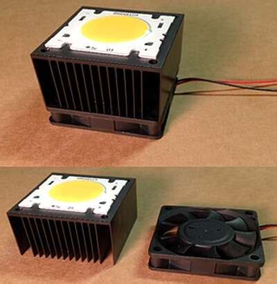 Cooling high-power LEDs: The four myths about active vs