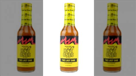 How hot The Last Dab from Hot Ones really is