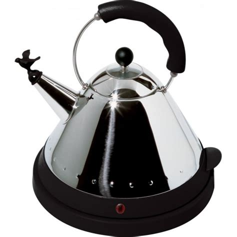 Alessi Electric Bird Kettle Available in White/Ivory