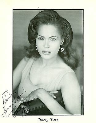 Tracey Ross autograph hand signed photo Passions Eve