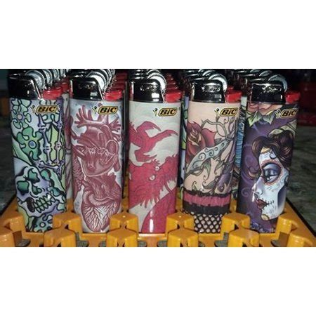 305733015353 UPC - New Special Edition Bic Lighters 5 Pcs