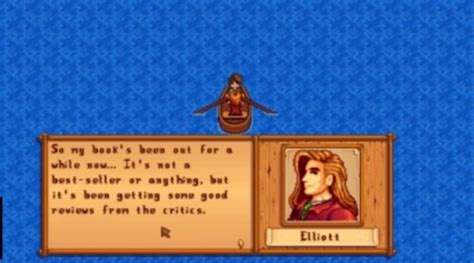 Stardew Valley – Elliot: Guide and Tips   Tom's Guide Forum