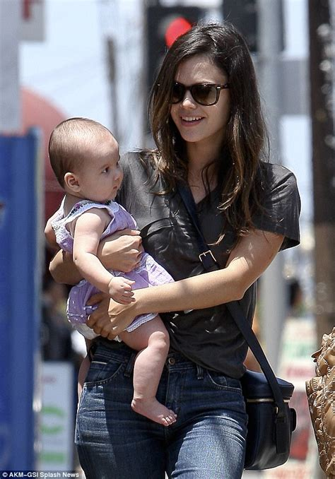 Rachel Bilson plays godmother to friend's daughter on a
