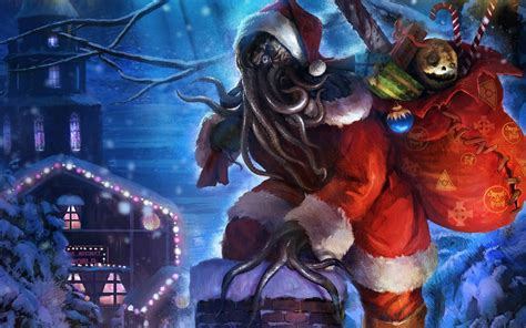 Enigma Society: Merry Christmas from Krampus and Cthulhu