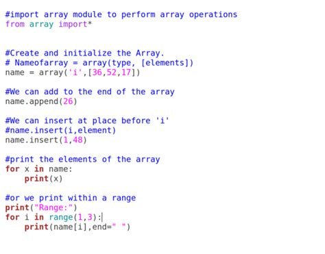 What's the Code — How To Code: Basic Arrays in Python 3