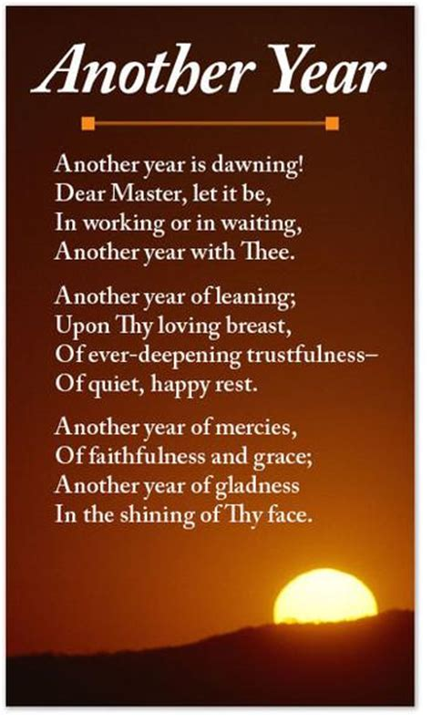 Poetry Card – Another Year – Moments With The Book