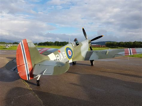 Spitfire RAB and P-51 Mustang The Shark have arrived in