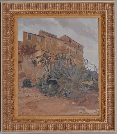 Alexandre Roubtzoff, VIEW FROM ALICANTE