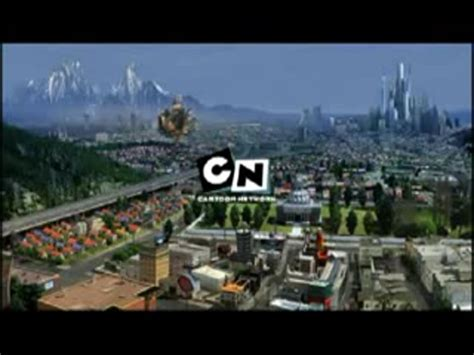 """Cartoon Network """"City"""" (partially lost bumpers; 2004–2007"""