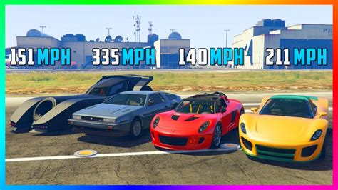 What Is The Fastest Vehicle In GTA Online? - YouTube