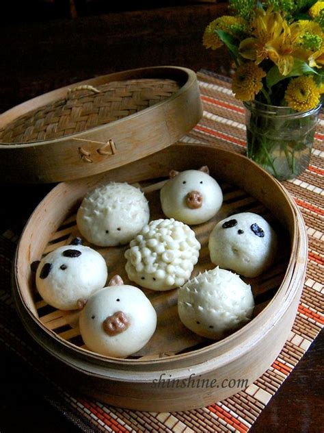 Tips on Steamed Buns & Cute Animal Shaped Steamed Buns - s