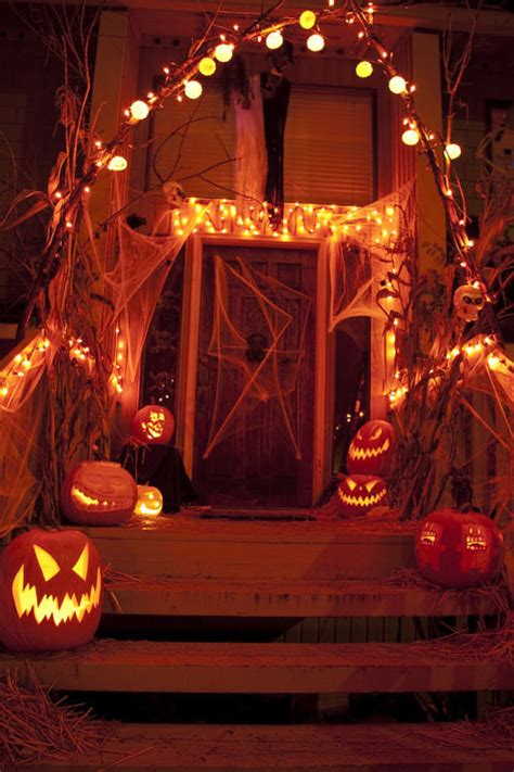 Halloween Porch Lights Pictures, Photos, and Images for