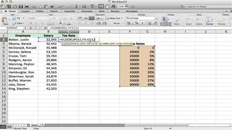 Excel Vlookup Tutorial and Example - YouTube