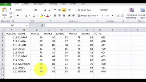 HOW TO USE VLOOKUP IN EXCEL IN TAMIL - YouTube