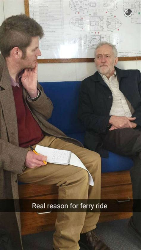 Jeremy Corbyn now has Snapchat and it's as great as you think