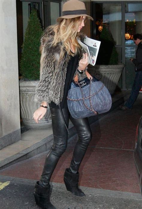 Rosie Huntington-Whiteley's Tips for a Fashionable Night