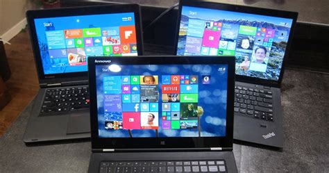 Review: A tale of three Lenovo Laptops - X1 Carbon Touch