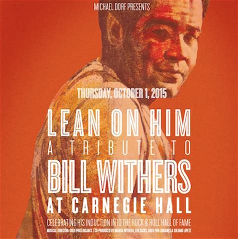 Bill Withers Is Getting A Star-Studded Tribute At Carnegie